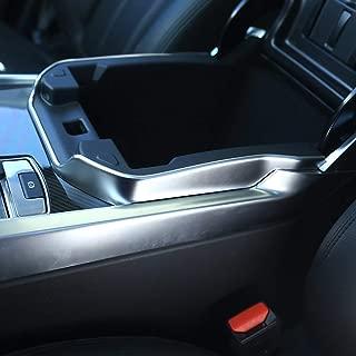 ABS Plastic Interior Armrest Box Decoration Frame Trim Accessories Matte Silver for Land Rover Range rover Sport RR Sport 2014-2017