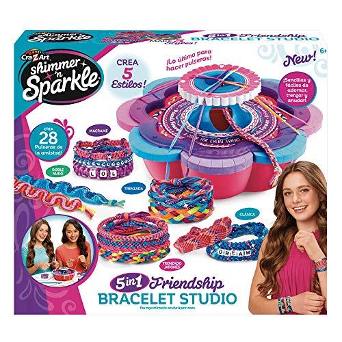 Shimmer'n Sparkle Taller de brazaletes y Pulseras 5 en 1 (ColorBaby 46290)