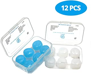 Moldable Silicone Ear Plugs Swimming – Ultra Comfortable Earplugs for Sleeping Noise Reduction 32dB NRR 6 Pairs by LYSIAN (12)