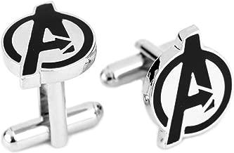 Athena Marvel Avengers Logo Cufflinks w/Gift Box