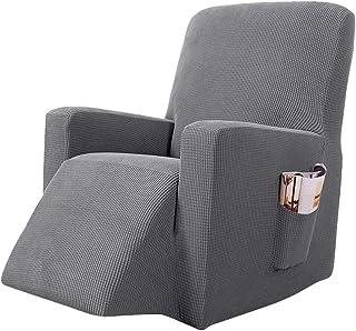 papasgix Ohrensessel Schonbezug Elastische Sesselbezug Sessel/überwurf Stretch Schutzh/ülle Weich /Überzug Sofabezug Sessel Husse f/ür Ohrensessel Beige