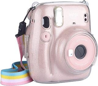 Anter Funda Protectora Compatible con cámara de película instantánea Fujifilm Instax Mini 11 con Correa extraíble