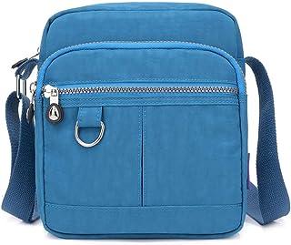 KARRESLY Lässige Nylon Geldbörse Handtasche Crossbody Tasche Wasserdichte Schultertasche für Frauen