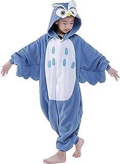 PULUMU Kids Halloween Cosplay Costume Animal Pajamas Kigurumi Onesie Children's Cartoon Jumpsuits