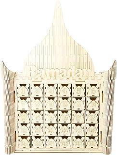 Exceart イードムバラク飾りムバラクアドベントカレンダーイスラム教イスラム教パーティー用品イスラム教イスラム教ラマダン装飾
