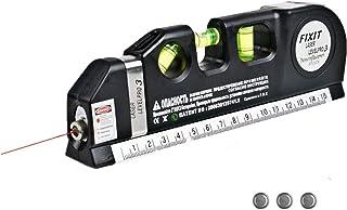 Laser Level Measure Tools 4 In 1 Multipurpose Standard Metric Laser Level Rulers Tools