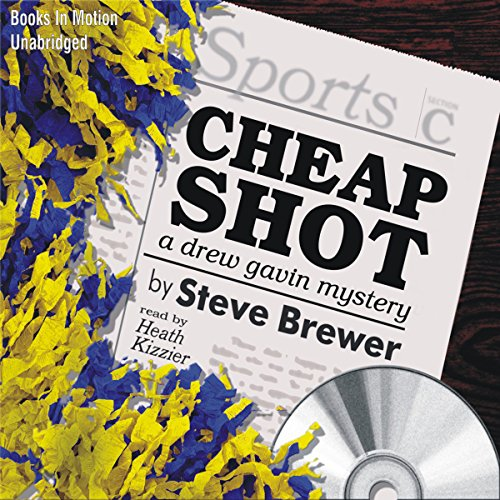 Cheap Shot audiobook cover art