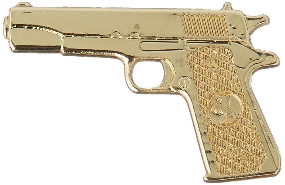 EagleEmblems P14778 Pin-Gun,45CAL Pistol,Gold Model 1911 (1-1/16'')
