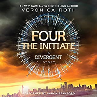 Four: The Initiate audiobook cover art