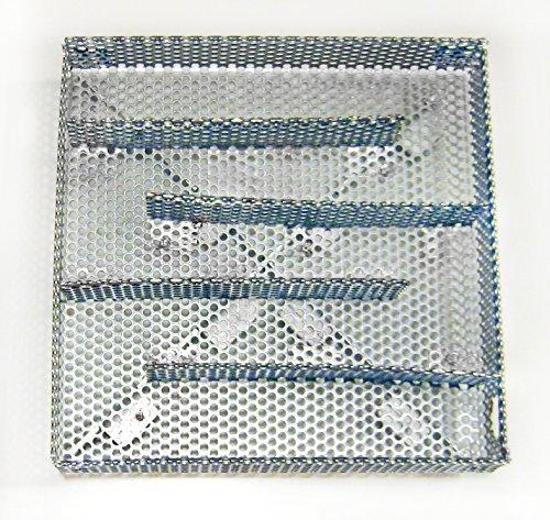 A-MAZE-N AMNS6X6 Maze Sawdust Smoker, Hot or Cold Smoking, 6 x 6 Inch