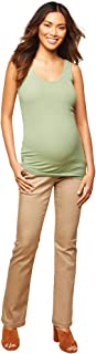 Women's Maternity 5 Pocket Super Soft Secret Fit Belly...