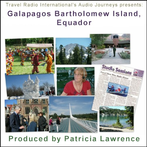 Audio Journeys: Galapagos Bartholomew Island, Equador audiobook cover art
