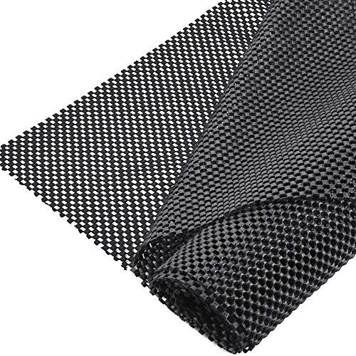Kbnian Antirutschmatte PVC Mesh Rutschmatte rutschfeste Unterlage Universal Multifunktionale Rutschhemmende Matte, für Schublade/Boden/Kofferraum-150 x 100 cm