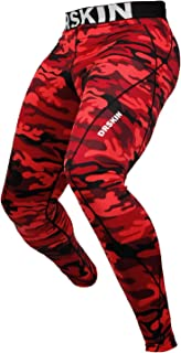 DRSKIN 1~3 Pack Men's Compression Pants Warm Dry Cool Sports Tights Baselayer Running Leggings Thermal ColdGear Winter