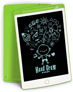 LCD Writing Tablet, Richgv 10 Inch Digital Electronic Graphics Tablet Ewriter with Memory Lock Mini Board Handwriting Pad Suitable for Kids and Adults for Home, School and Office