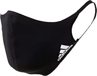 Adidas Face Cover Large, Black (Pack of 3)