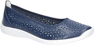 Fleet & Foster Womens Leather Anne Slip On Shoe