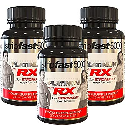 Strong Weight Loss Diet Pills Fat Burners For Men & Women, 100% MONEY BACK GUARANTEE (Work Quicker Than Raspberry Ketones, Colon Cleanse, T5, T6, Detox Tablets), Slimming Supplement, Lose Weight Fast, Best Pre-Workout Energy Boost + DIET PLAN! by StripFas