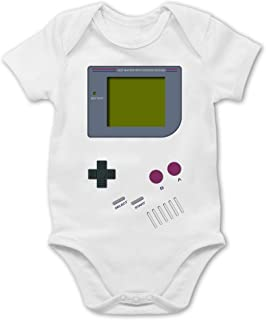 Shirtracer Gameboy - Baby Body Kurzarm für Jungen und Mädchen