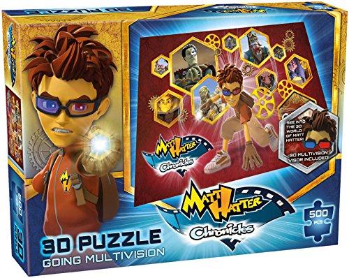 Puzzle - Matt Hatter Chronicles - Multivision 3D 500pc - Tactique - BX-A3-3-T48