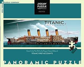 New York Puzzle Company - Penguin Random House Titanic First Accounts - 1000 Piece Jigsaw Puzzle