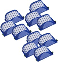 IOTdou Durable Vacuum Parts Compatible Replacement Parts 10 X Filters Kit For Irobot Roomba 500 600 Series 536 550 614 620 630 650 655 660 665 671 680 690 Vacuum Cleaner Accessory Blue