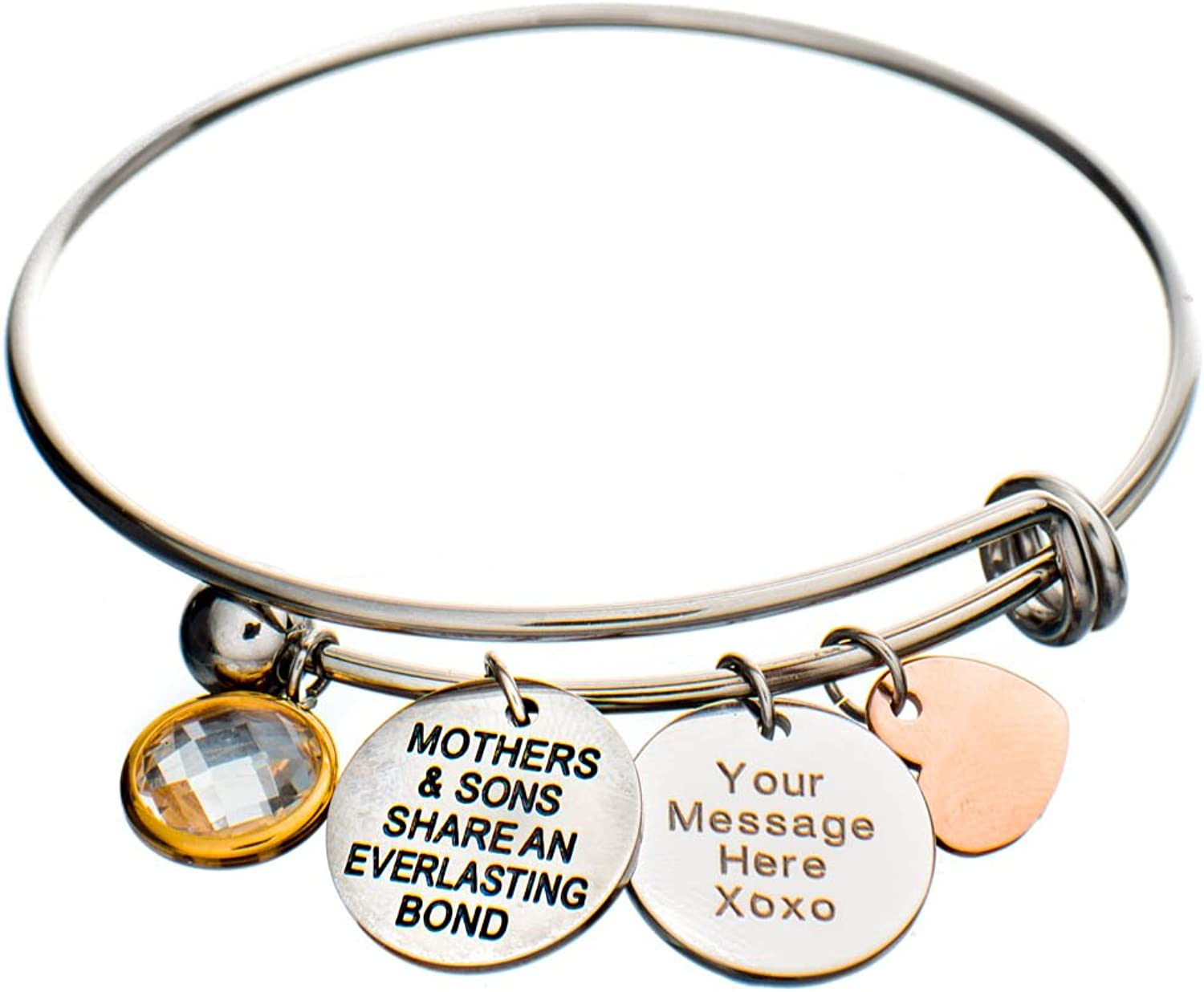 Jewelry Nexus Mothers Sons Share Everlasting an Challenge the lowest price of Japan Bond Cha Heart Max 71% OFF