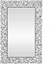 KOHROS Large Antique Wall Mirror Ornate Glass Framed Venetian Decor Mirror Bedroom,Bathroom, Living Room (W 23.6