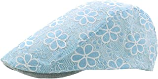 Fashion Hats Ventilation Beret Cap Summer Spring Autumn Winter Cotton Ladies Visor Flower Embroidery Lace Hollow Cap Forward Cap Visor Vintage Outdoor Visor Hat Elegant Hats