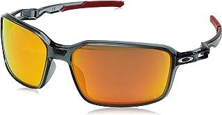 e1a9dfe5b Óculos Oakley OO9429 942903 Preto Lente Polarizada Vermelho Ruby Prizm Tam  64