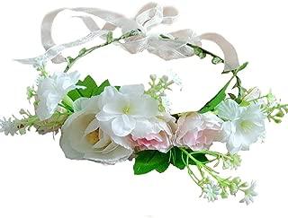 Best flower crown pink Reviews