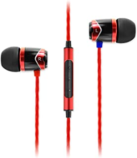 Soundmagic E10C in-Ear Wired Headphones with Mic (Red)
