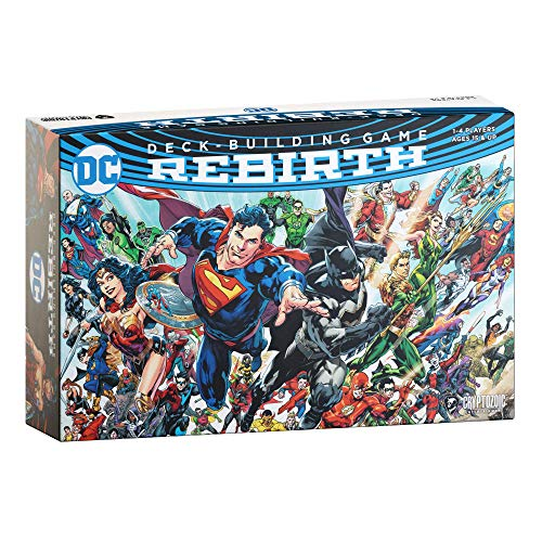 DC Comics Deck-Building Game: Rebirth