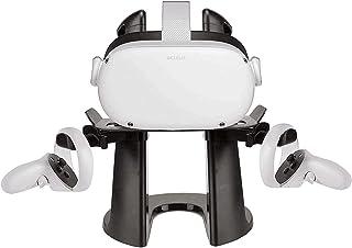 Esimen VR Stand for Oculus Quest 2/Quest/Rift S/Go/HTC Vive pro VR Gaming Headset Display Holder Mount Station VR Storage