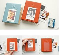 gazechimp Álbum de Fotos Namecard Estojo de Armazenamento Mini Film Book 64 Fotos para Instax Ivory