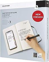 Moleskine Pen+ Ellipse Smart Writing Set Pen & Ruled Smart Notebook - Use with Moleskine Notes App for Digitally Storing N...
