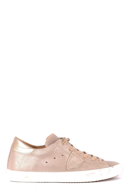 [PHILIPPE MODEL] レディース MCBI35122 ゴールド 革 運動靴