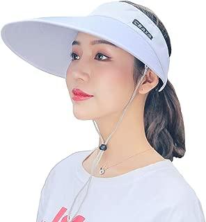 roll up visor hat