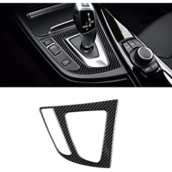 Black BLAKAYA Compatible with Carbon Fiber Car Toolbox Handle Decoration for BMW 3 4 Series GT F30 2013 2014 2015 2016 2017 2018 2019