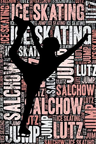 Compare Textbook Prices for Ice Skating Journal: Cool Blank Lined Ice Skating Lovers Notebook For Skater and Coach  ISBN 9781799241799 by Notebooks, Elegant