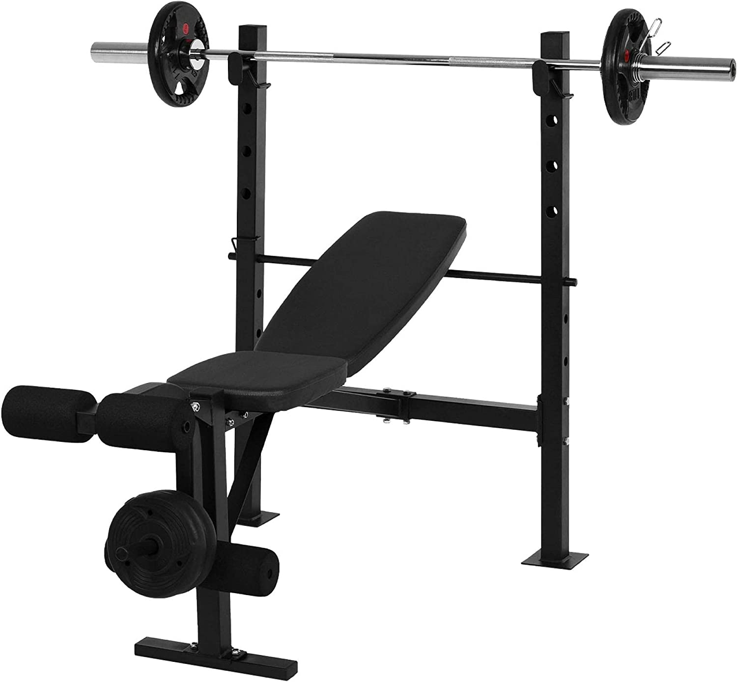 Weight Bench Adjustable Press Max 87% OFF Credence Rack S Lifting