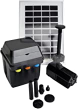 ASC 3 Watt Solar Panel with Water Pump Battery/Timer Control System and LED Lights
