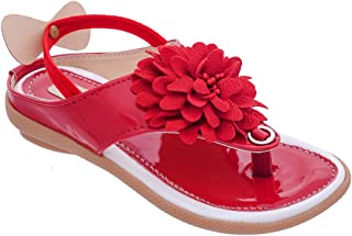Chipbeys Flower Sandals for Girls with Back Support