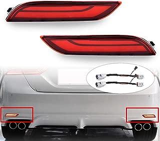 carbon fiber led tail lights