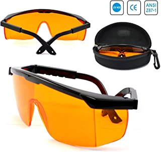 6a85f183a9b Amazon.com  Orange - Safety Goggles   Glasses   Eye Protection ...