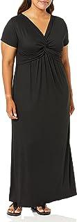 فستان Star Vixen نسائي طويل بأكمام قصيرة وبتصميم ملتف من الأمام