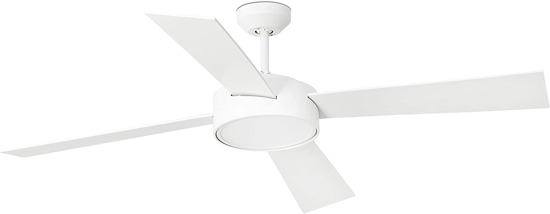 Faro Barcelona 33726 - HYDRA LED Ventilador de techo blanco con motor DC