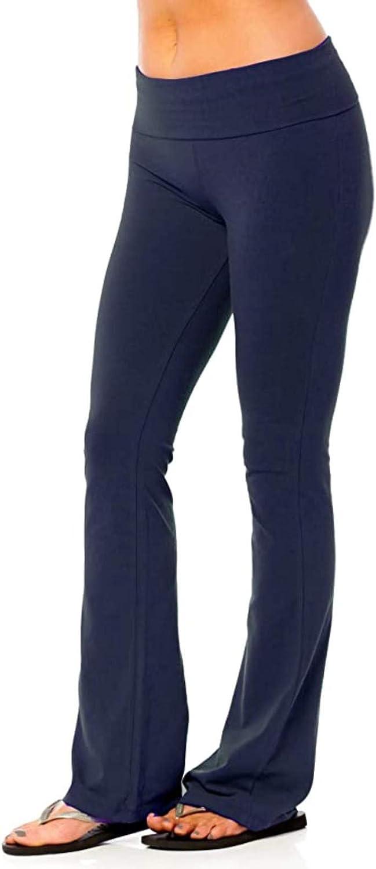 AODONG Yoga Pants for Women,Workout Leggings Sweatpants Tummy Control Fitness Sports Wide Leg Yoga Athletic Pants