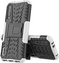 Wuzixi Case for Nokia 5.1 Plus. Tire Texture Protective [Anti-Scratch] [Shock Absorption] [Durable], Cover for Nokia 5.1 Plus.White