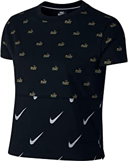 Nike Sportswear Short Sleeves Metallic Top For Women